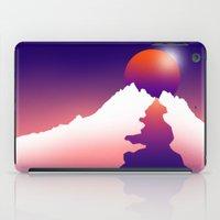 Spilt Moon iPad Case