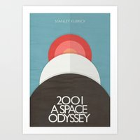 2001 A Space Odyssey - S… Art Print