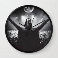 Darth Vader rocks the party Wall Clock