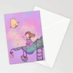Up on the treetop 2 Stationery Cards