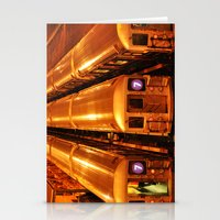 New York Queens Subway 7… Stationery Cards