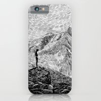 Child On The Rock - Blac… iPhone 6 Slim Case
