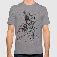 blob Mens Fitted Tee Athletic Grey SMALL