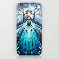 iPhone & iPod Case featuring The Snow Queen by Mandie Manzano