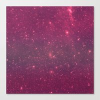 Pink Space Canvas Print