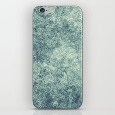 Teal Texture iPhone & iPod Skin