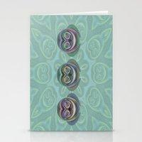 Three Owls Stationery Cards