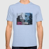 Entertainment or Abuse? Mens Fitted Tee Athletic Blue SMALL