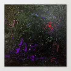 Southern Constellations (Red) Canvas Print