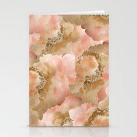 Gold In The Clouds Stationery Cards
