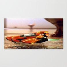 Speeder/Shuttle Canvas Print