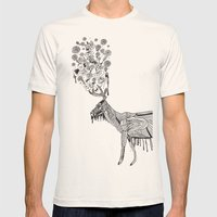 Dream Mens Fitted Tee Natural SMALL