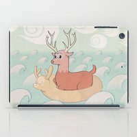 Deer Across The Sea iPad Case