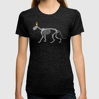 lion king Womens Fitted Tee Tri-Black SMALL