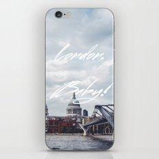 London, Baby! iPhone & iPod Skin