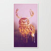 Owlope Canvas Print