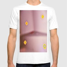 All of the Lights Mens Fitted Tee SMALL White