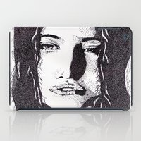 ??? Girl iPad Case