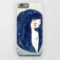iPhone & iPod Case featuring I am the Sky by munieca