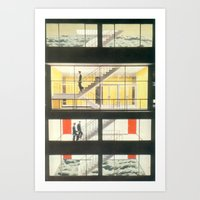 Riser Art Print