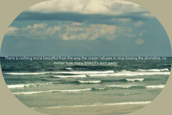 Sarah Kay - Ocean Quote Art Print