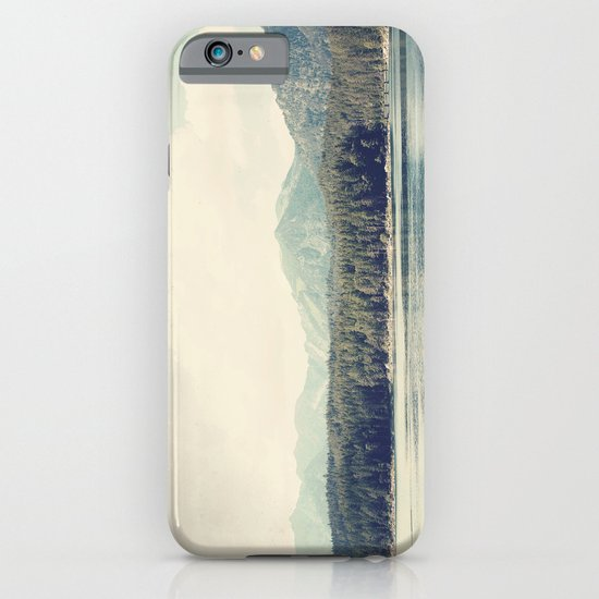in the shadow of the alps ...  iPhone & iPod Case