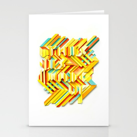This Is Made Up #3 Stationery Card