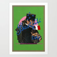 bastille day Art Print
