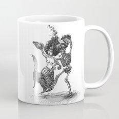 Dancing Mermaid and Skeleton Mug