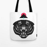 Roar My *--Tiger--* Tote Bag