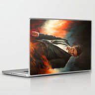 He Who Fights Monsters Laptop & iPad Skin