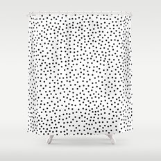 Dots.. Shower Curtain