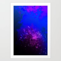 Mysterious World Below the Surface Art Print