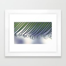 Cycas - leaf born 2664 Framed Art Print