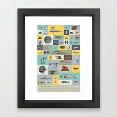A Long Time Ago - The Co… Framed Art Print