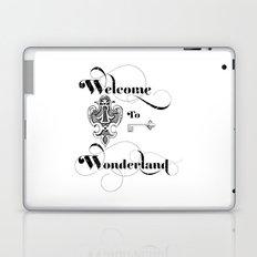 Alice In Wonderland Welcome To Wonderland Laptop & iPad Skin