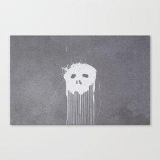 Skull Head Canvas Print