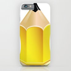 Stylized Pencil Artwork (Vector) Slim Case iPhone 6s