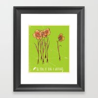 The Perks Of Being A Wallflower - Movie Poster Framed Art Print