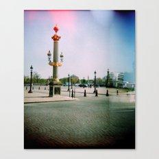 Place de la Concorde, Paris Canvas Print