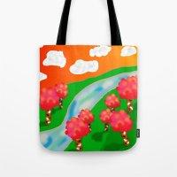 Wonder Land Tote Bag
