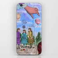 MONGOLFIERE iPhone & iPod Skin