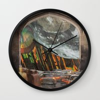 We're All Just Passing Through Wall Clock