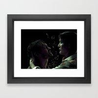 Divisi Framed Art Print