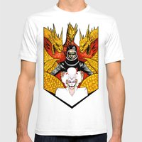 The Final Golden Dawn Of… Mens Fitted Tee White SMALL