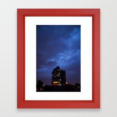 Electric Sky Framed Art Print