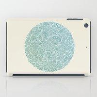 Detailed circle iPad Case
