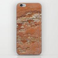 Orange Brick Wall iPhone & iPod Skin