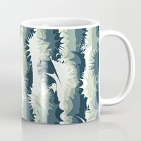Explosions in the water Mug