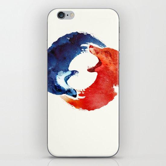 Ying yang iPhone & iPod Skin